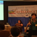 Ms. Tita Pojuanco in Retail Excellence Seminar