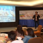 Mr. Jo Puangco in Retail Excellence Seminar