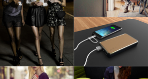 Fashion fuses with technology in the current Philippine Fashion Week. PowerMac showcases briefcases IPhone cases, and fashionable earplugs