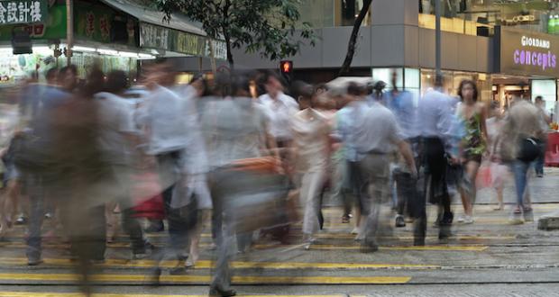 Hong Kong Hustle And Bustle