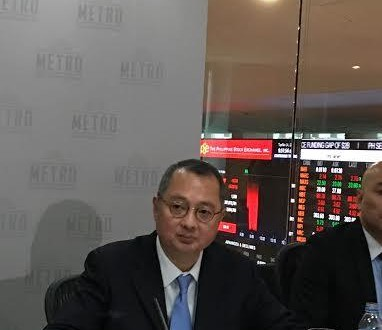 Metro Retail Stores Group Chairman and CEO Frank Gaisano