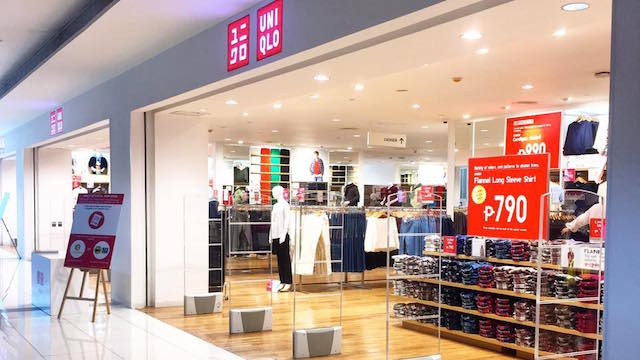 830a18dac193b UNIQLO opens two new stores - Philippine Retailers Association