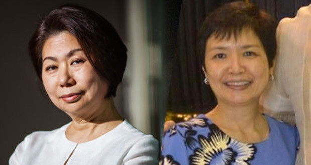 POWER BUSINESSWOMEN. Teresita Sy-Coson (left), daughter of Henry Sy, and Robina Gokongwei-Pe (right), daughter of John Gokongwei Jr, are among Forbes Asia's most powerful businesswomen