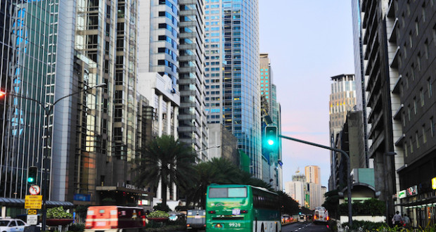 Makati City, Downtown Of Manila