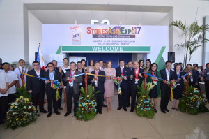 20. Stores Asia Expo 2017 Opening Ceremony and Ribbon Cutting