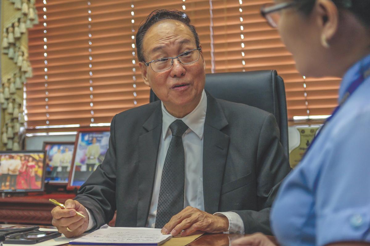 (Mr. Antonio Tan)
