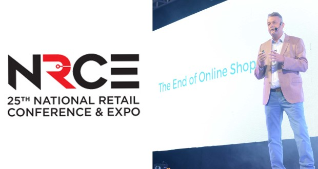 Retail and e-commerce futurist and best-selling author Wijnand Jongen during the 25th NRCE.