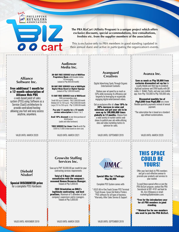 PRA Website Catalog